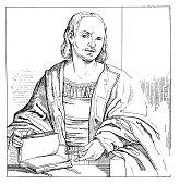 Giovanni Boccaccio | Antique Portrait Gallery