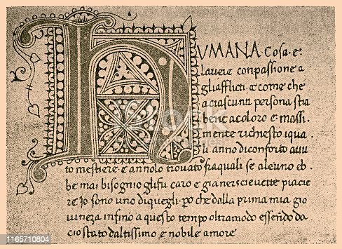 Illustration of a Giovanni Boccaccio manuscript of the