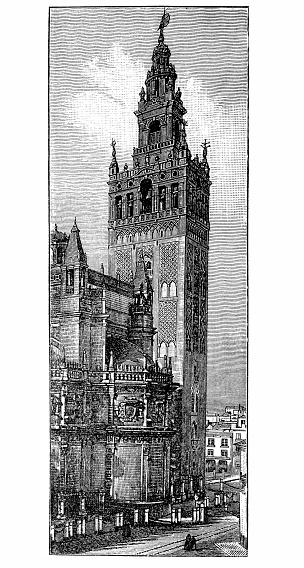 Giralda, Seville Cathedral in Seville, Spain
