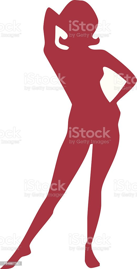 Girl Vector royalty-free stock vector art