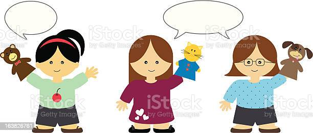 Girls playing with hand puppets illustration id163826761?b=1&k=6&m=163826761&s=612x612&h=jehuodw1c1wc s6nl666iy89pnyywin7azyunm4r3n0=