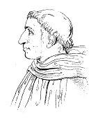 Girolamo Savonarola I Antique Portrait Gallery