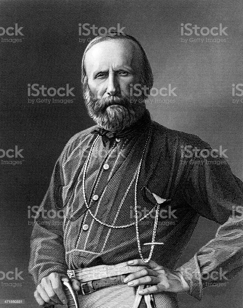 Giuseppe Garibaldi, Italian General and Politician. royalty-free giuseppe garibaldi italian general and politician stock vector art & more images of 19th century