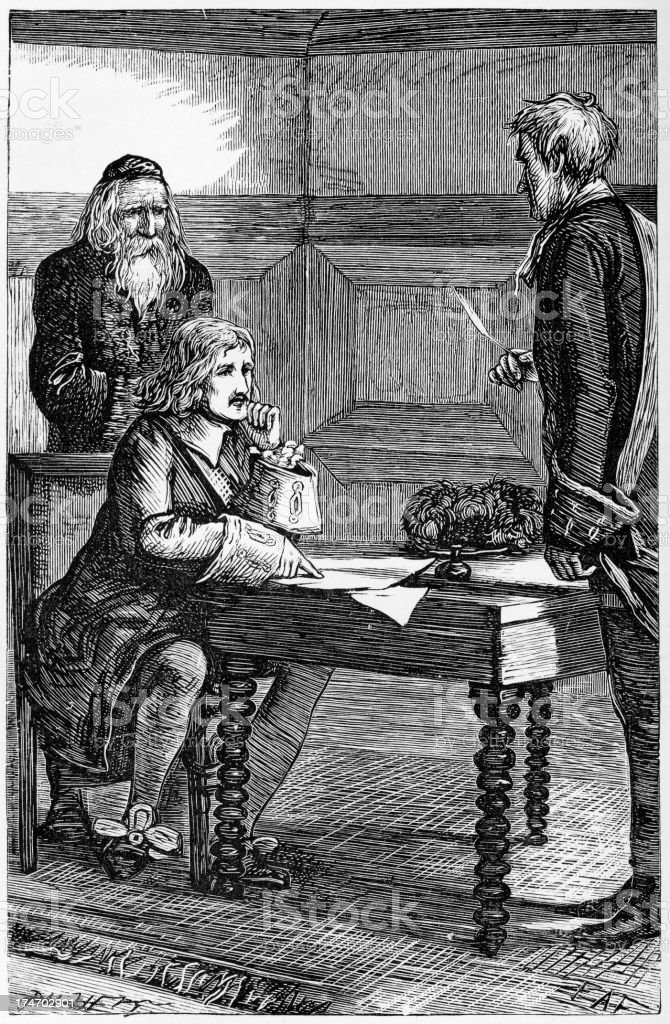 Giving evidence in the 18th century royalty-free giving evidence in the 18th century stock vector art & more images of 18th century