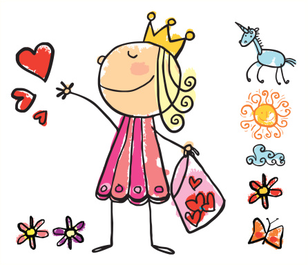 Giving hearts Princess