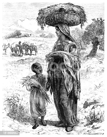 Gleaners near Bethlehem