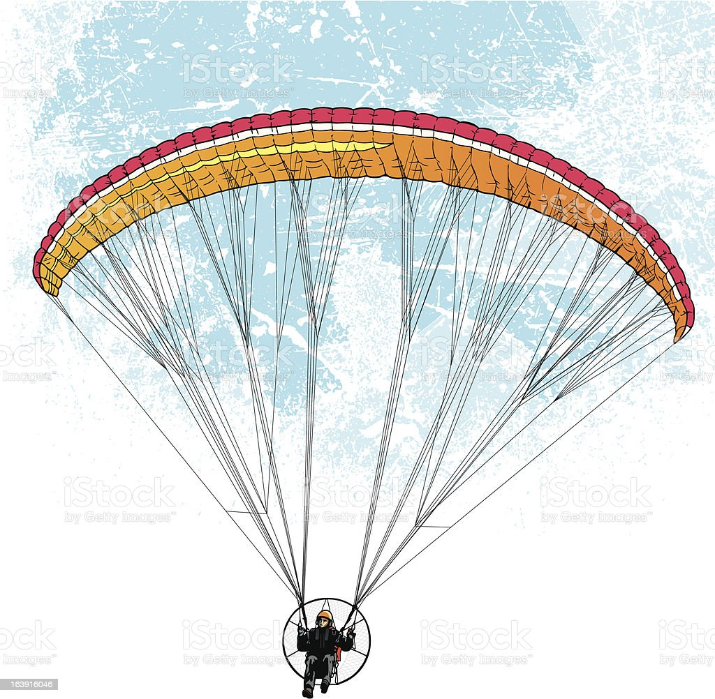 Glide in the sky royalty-free glide in the sky stock vector art & more images of activity