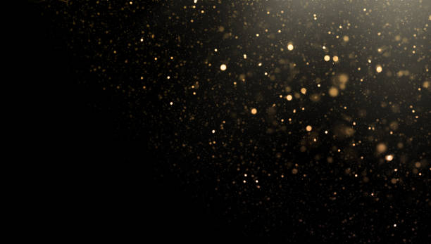 Glittering. Copy Space. vector art illustration