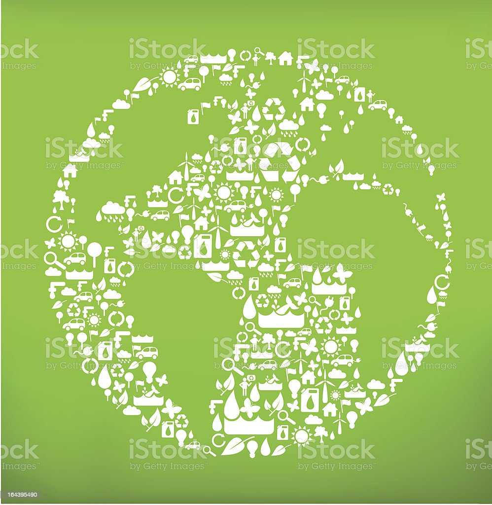 global ecology concept royalty-free stock vector art