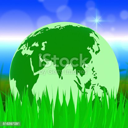 Nature Global Meaning Globally Scenic And Green