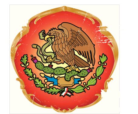 Glorious seal of the Mexican Estados
