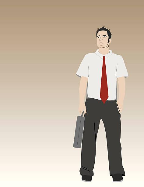 Go to Work! vector art illustration