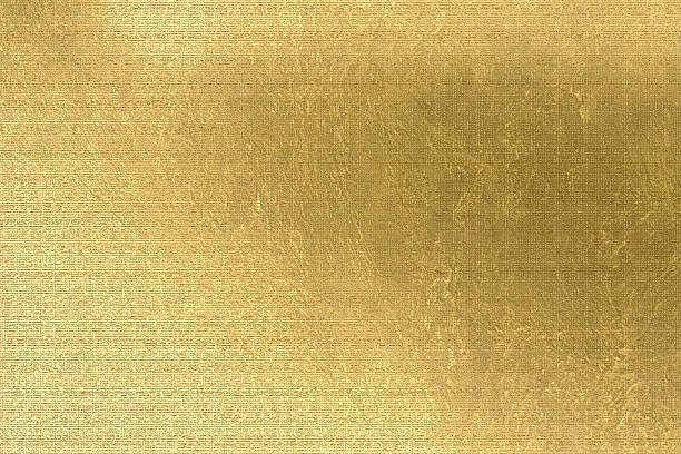 gold background, brown paper, linen texture, festive and business backdrop - textured effect stock illustrations