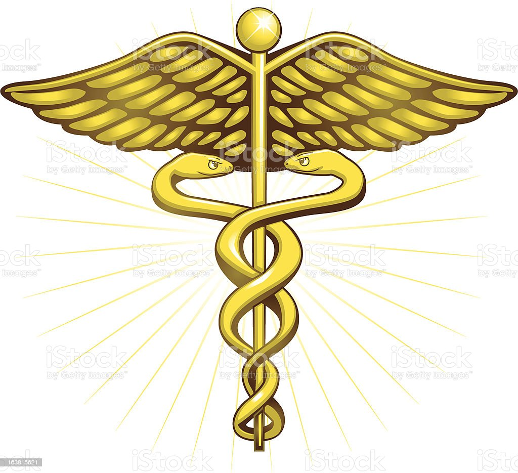 Gold caduceus stock vector art more images of animal body part gold caduceus royalty free gold caduceus stock vector art amp more images of animal buycottarizona Gallery