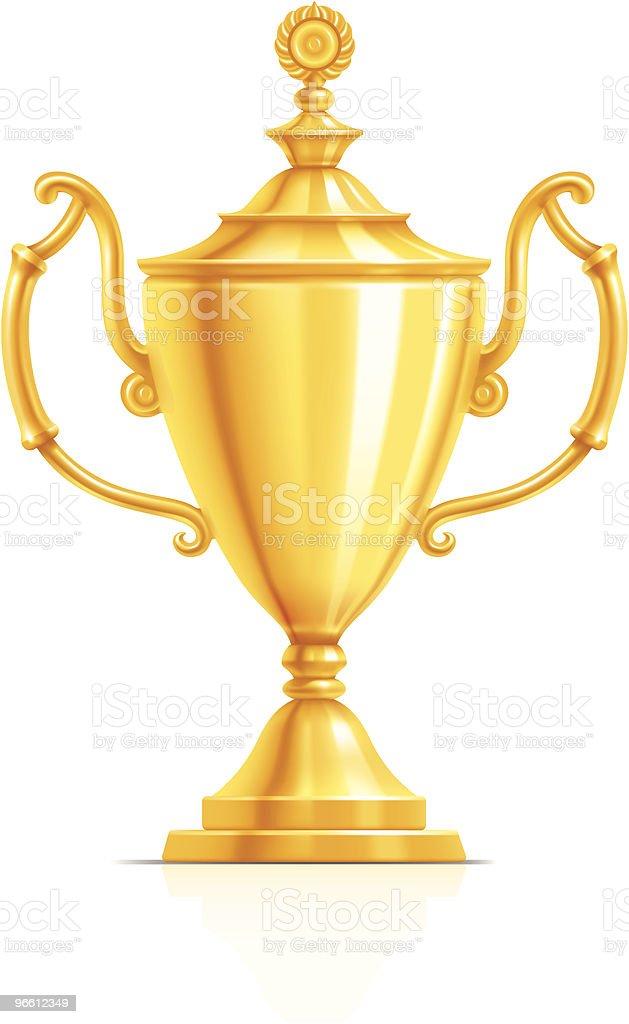 Gold Cup - Royalty-free Aansporing vectorkunst