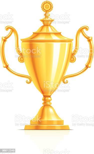 Gold Cup-vektorgrafik och fler bilder på Drivfjäder