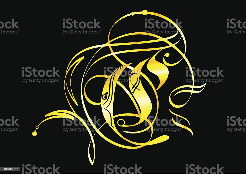 Gold decorative elements. royalty-free gold decorative elements stock vector art & more images of art and craft