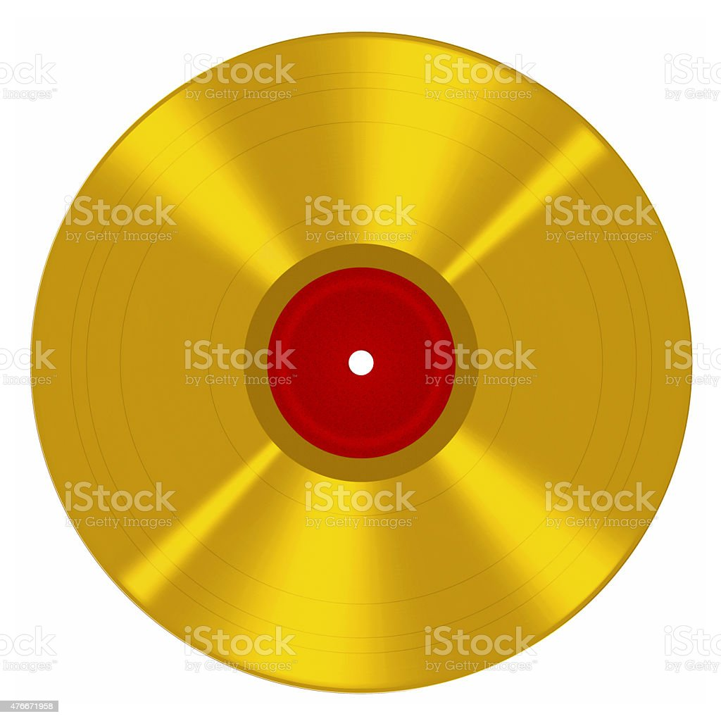 Royalty Free Gold Record Clip Art Vector Images