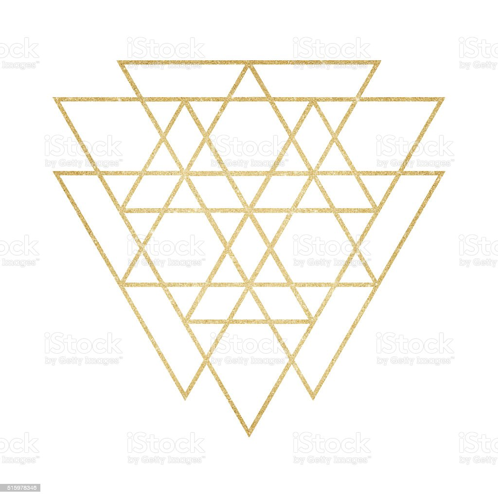 Line Art Yogyakarta : Gold glitter geometric line art stock vector more