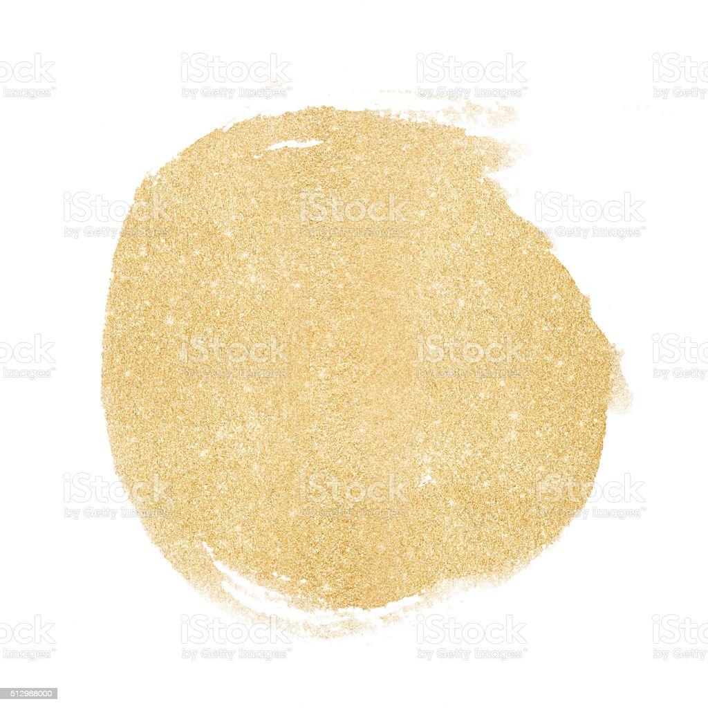 Gold glitter bemalten Hintergrund – Vektorgrafik