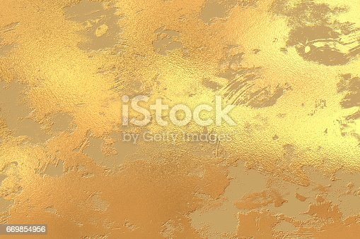 Abstract Art Mixed Media Grunge Stock Photo: Gold Grunge Painted Texture Stock Vector Art & More Images