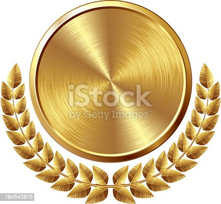 istock Gold medal 164542875