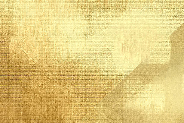 gold metallic background, linen texture, bright festive backdrop - textured effect stock illustrations