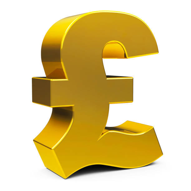 Royalty Free 3d Pound Symbol Clip Art Vector Images Illustrations