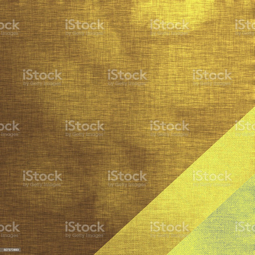 Golden background, linen texture royalty-free stock vector art