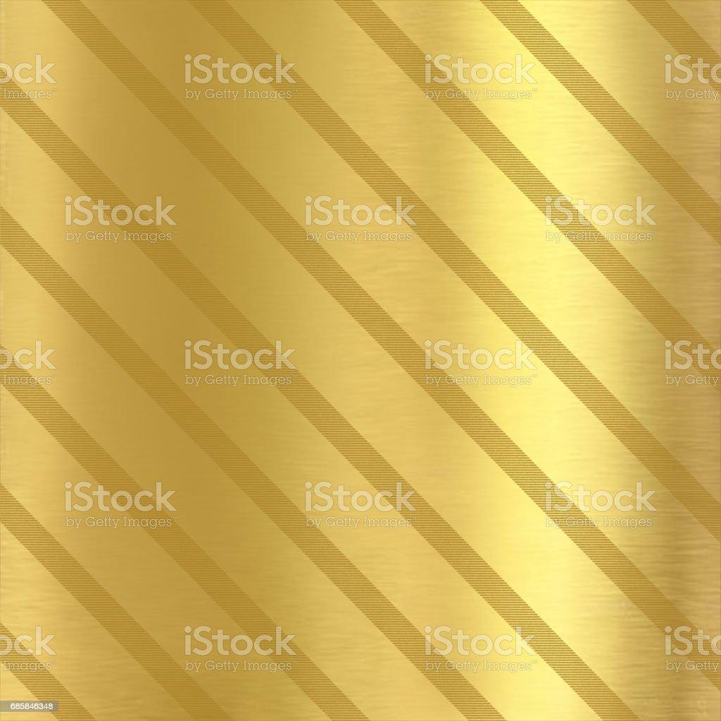 Golden background with diagonal lines vector art illustration
