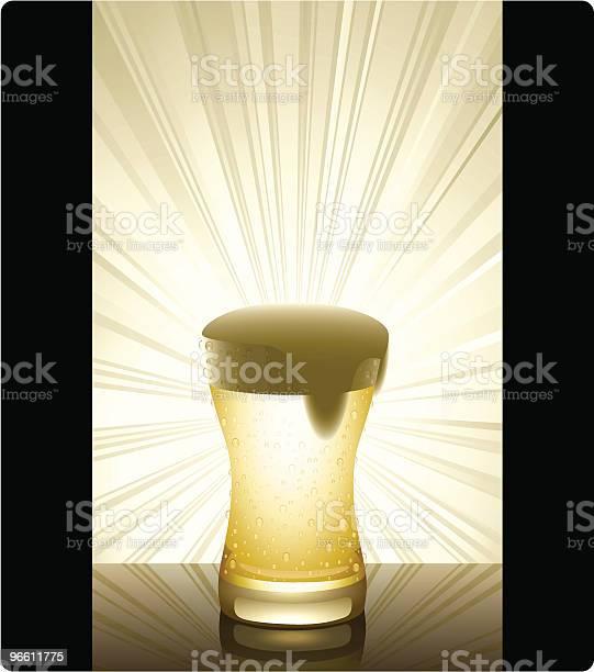 Golden Beer-vektorgrafik och fler bilder på Friskhet