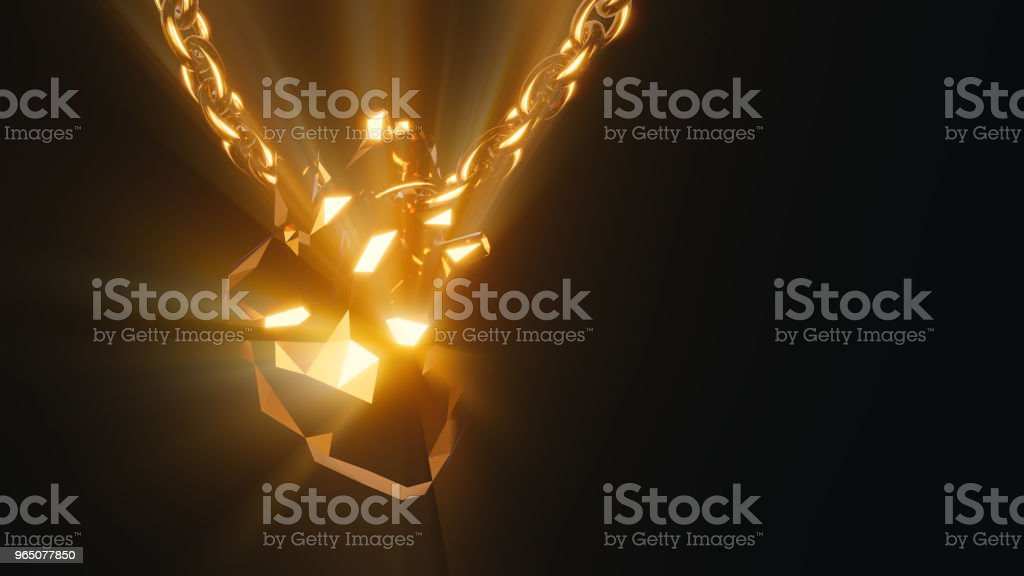 Golden human Heart 3d Illustration royalty-free golden human heart 3d illustration stock vector art & more images of abstract