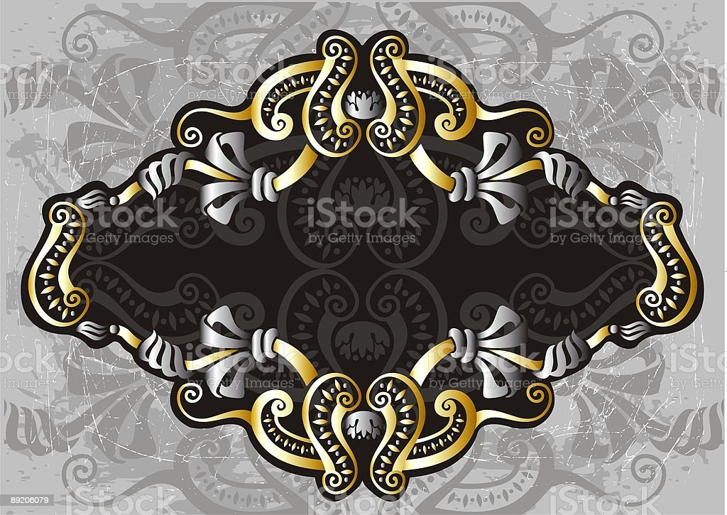 golden label royalty-free stock vector art