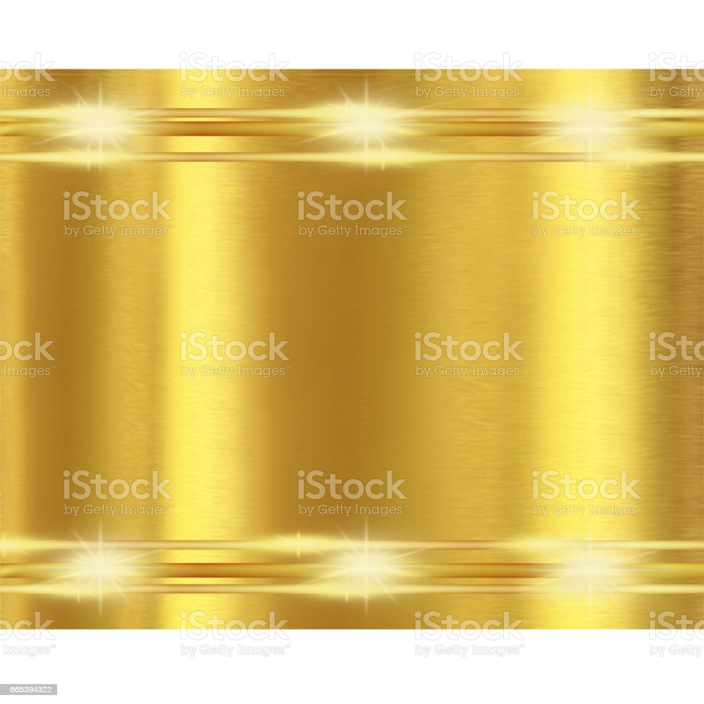 Golden shiny Background - Abstract Illustration vector art illustration