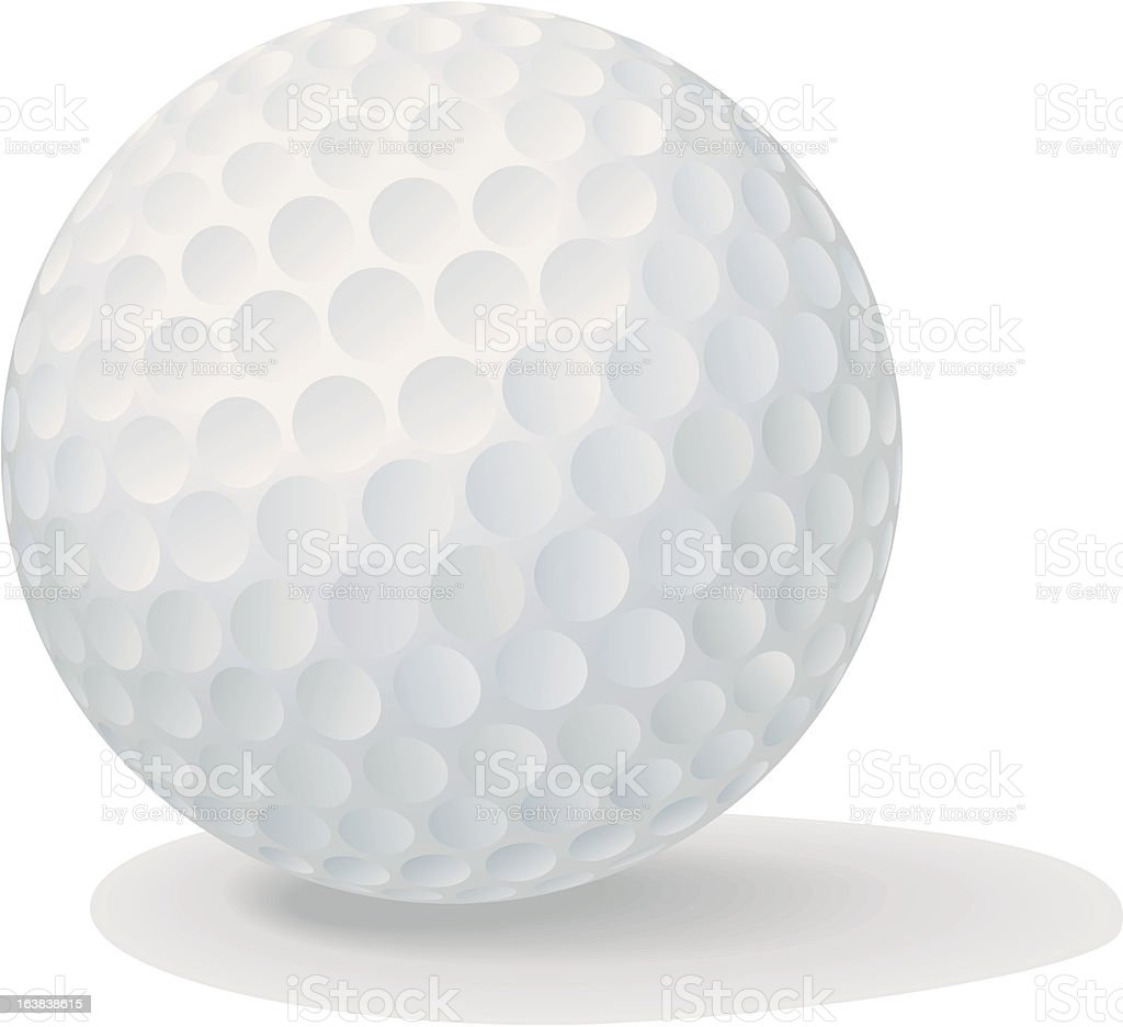Golf Ball royalty-free golf ball stock vector art & more images of ball