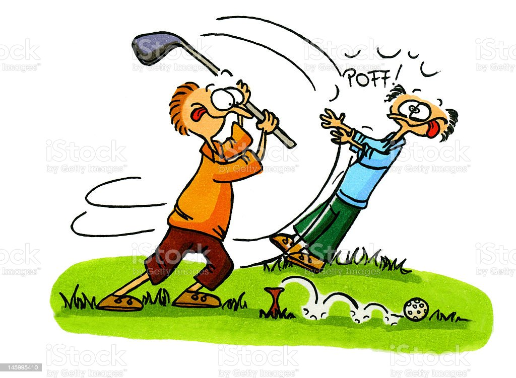 royalty free funny golf clip art vector images illustrations istock rh istockphoto com funny golf clipart free funny golf ball clipart