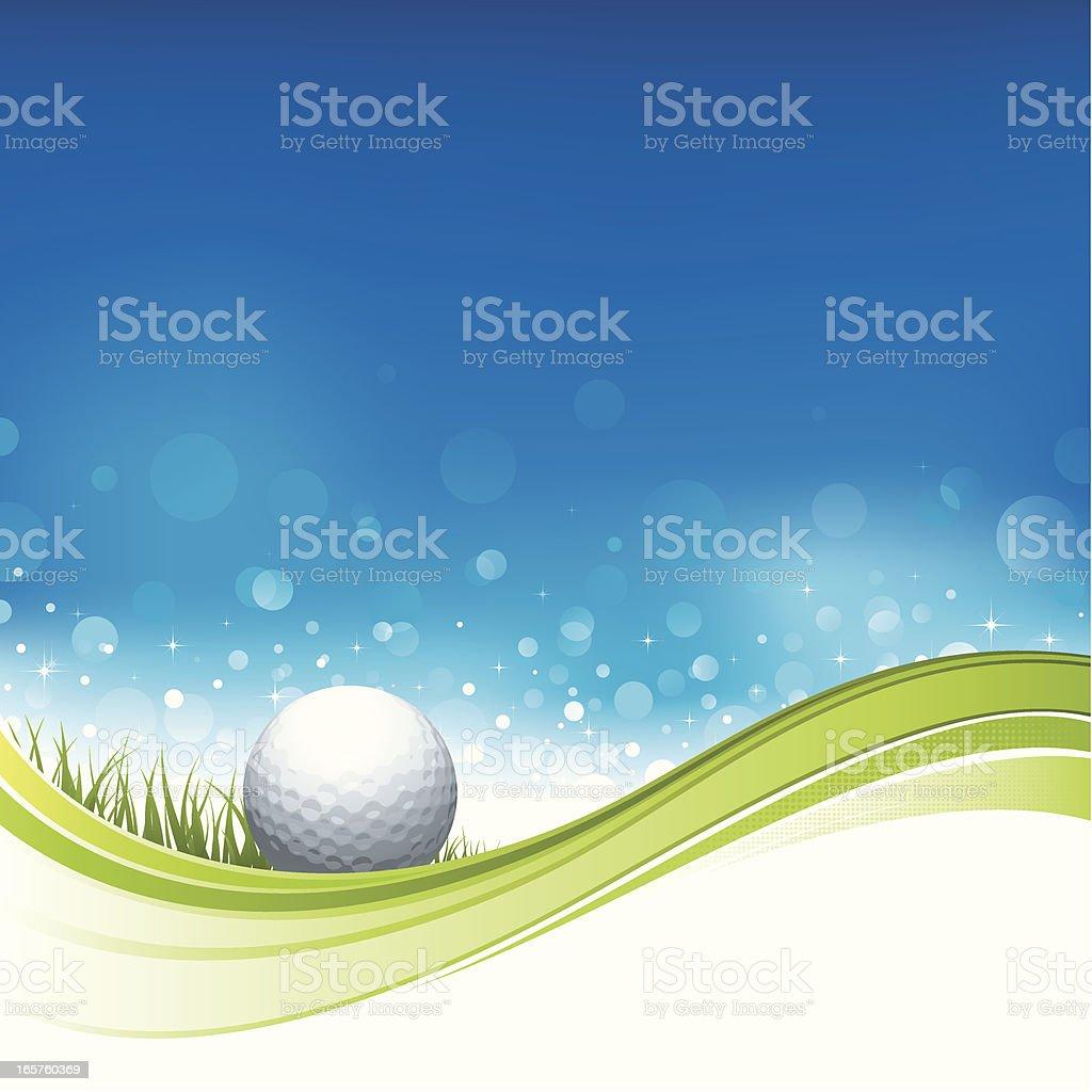 Golf flow design royalty-free stock vector art