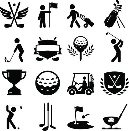 Golf Icons - Black Series