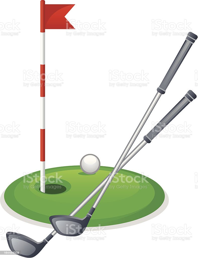 royalty free golf club clip art vector images illustrations istock rh istockphoto com golf club clipart gif crossed golf clubs clip art