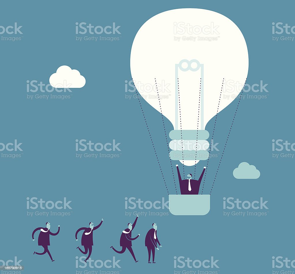 Good Idea royalty-free stock vector art
