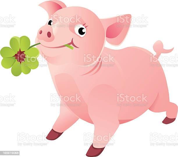 Good luck pig with a four leaf clover illustration id165619068?b=1&k=6&m=165619068&s=612x612&h=bwmeujrl6znrq1eoafvs2cfjlqzuuewqrdhppbprusq=