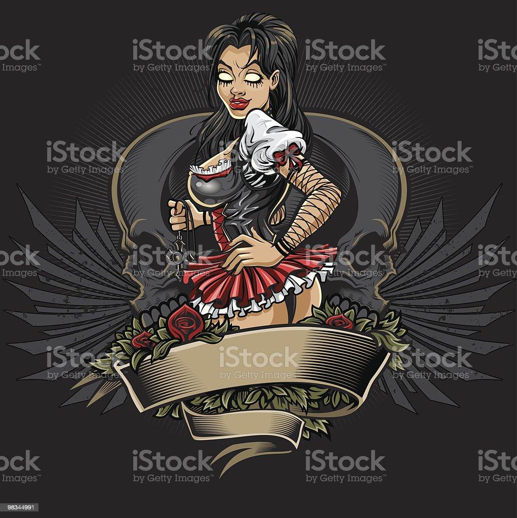Goth girls tattoo