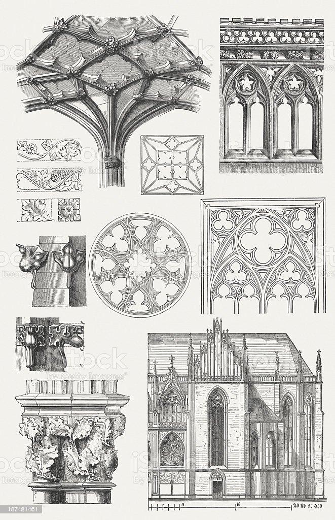 Des éléments gothiques - Illustration vectorielle