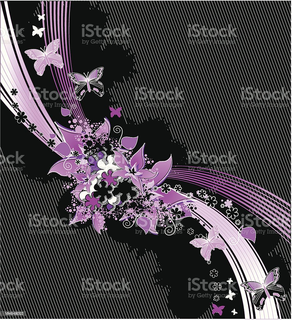 Gothic Elegant Background royalty-free stock vector art