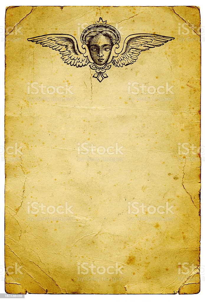 Gothic Horror Paper Background royalty-free stock vector art