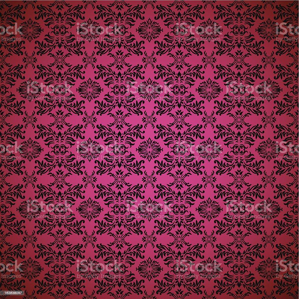 ゴシックの壁紙シームレスなピンクの イラストレーションのベクター