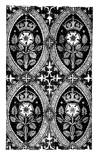 Gothic wall pattern