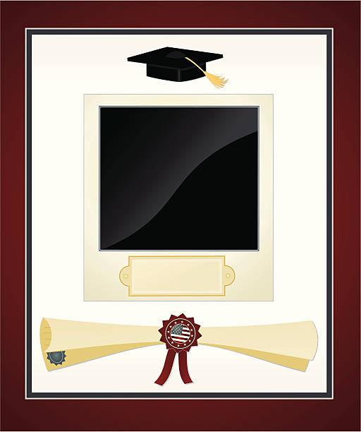 Royalty Free Graduation Photo Frames Clip Art, Vector Images ...