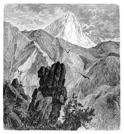 Gran Sasso d'Italia is an Apennine secondary mountain massif