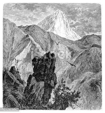 istock Gran Sasso d'Italia is an Apennine secondary mountain massif 1212928863